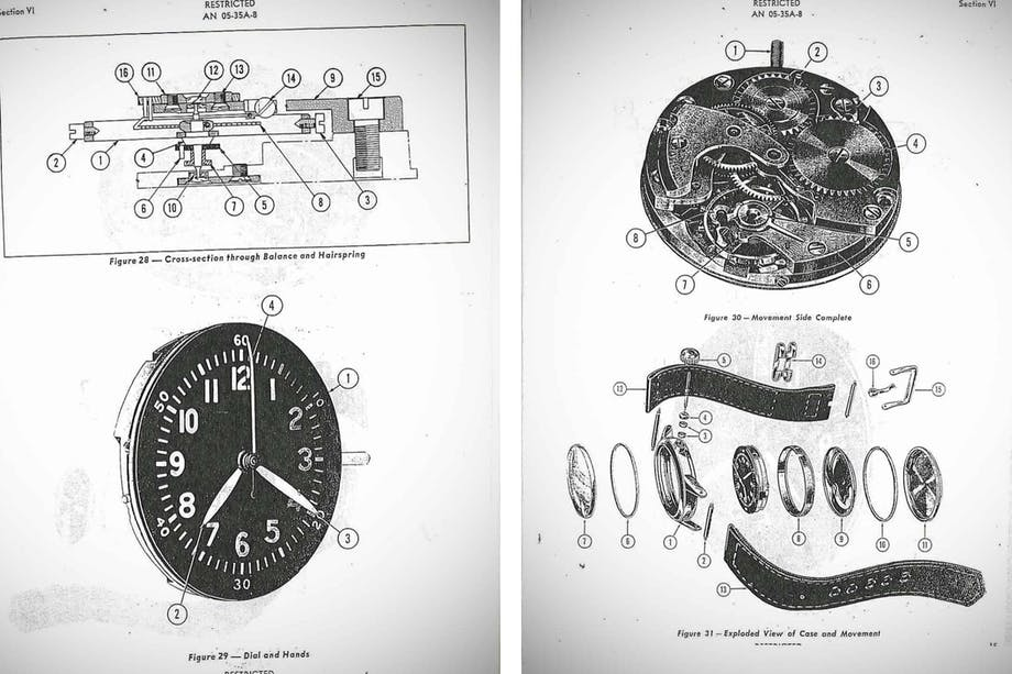 filson watch factory diagram