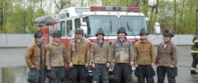 Fire Crew in Tin Cloth