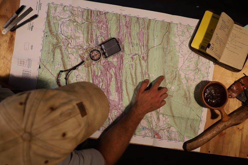 reading a topo map