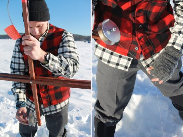 Ice Fishing - Rhon Bell - 1