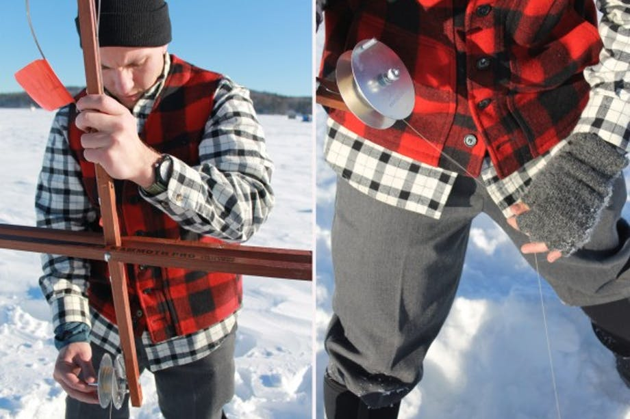 Ice Fishing - Rhon Bell - 1