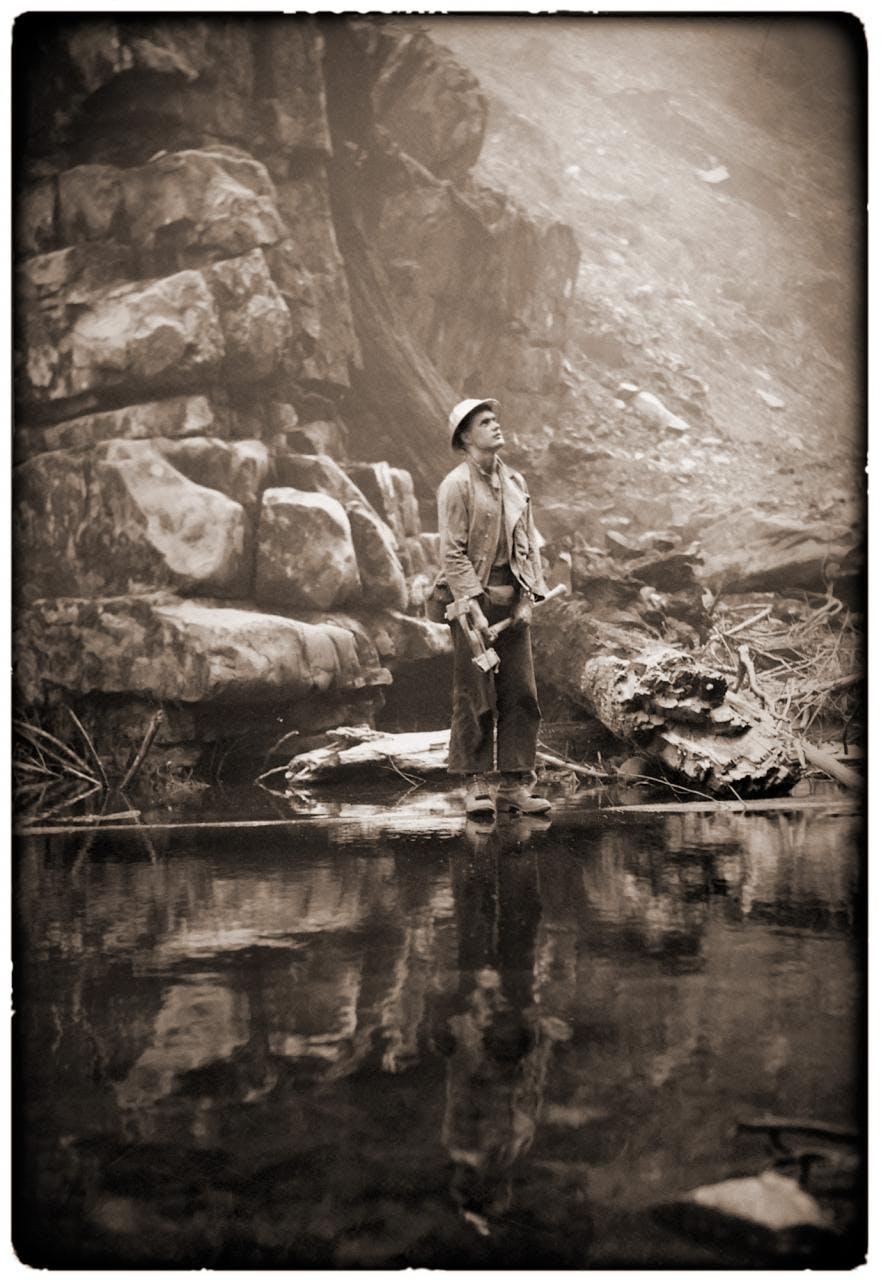 Man of the Woods, 1951 - Sam McJunkin