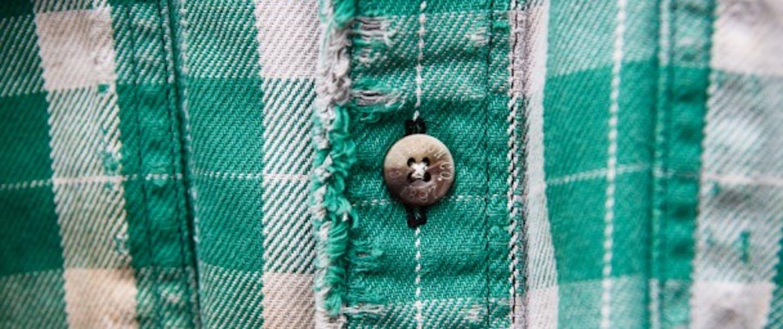 Green plaid Vintage Alaskan Guide Shirt Small - Filson