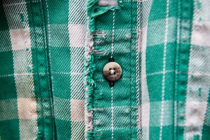 Green plaid Vintage Alaskan Guide Shirt Small - Filson