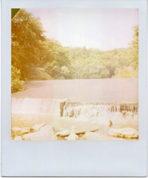 Red River - George Barnett - Polaroid