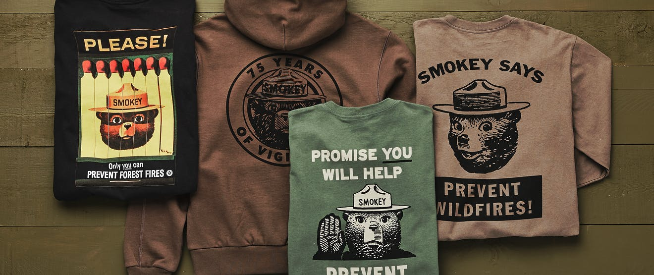 Filson Smokey Bear tops