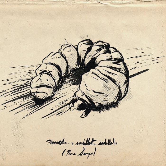 caterpillar sketch