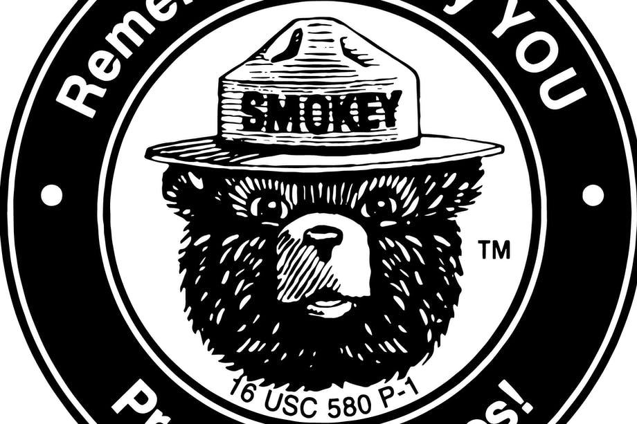 Smokey Bear Seal