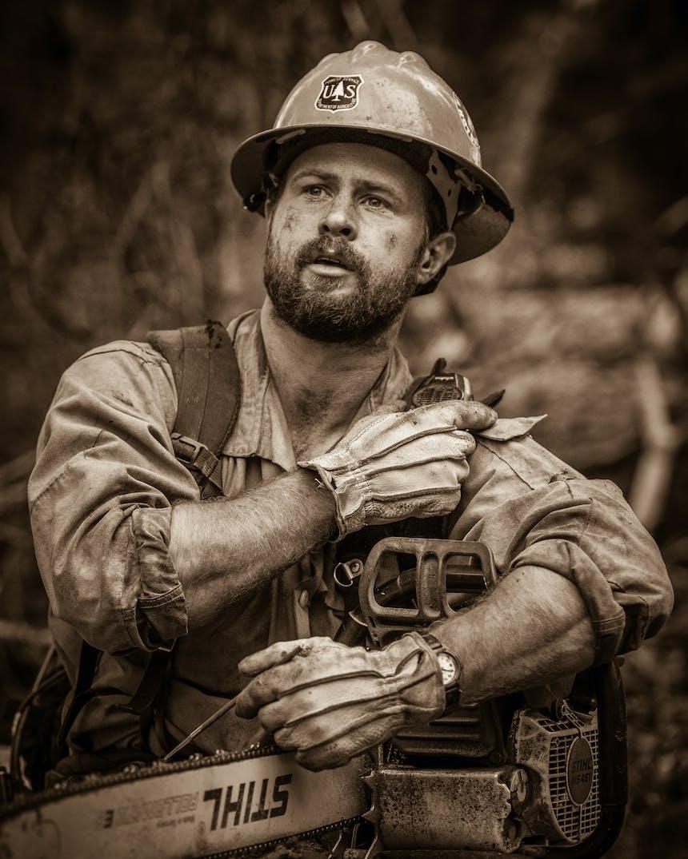 kyle miller wildland firefighter photographer
