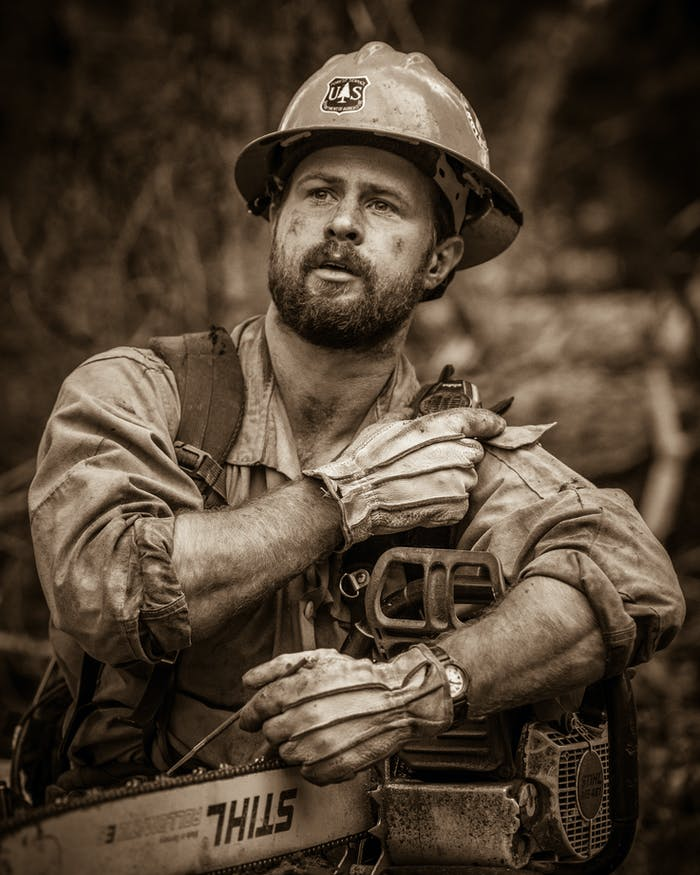 kyle miller wildland firefighter photographer
