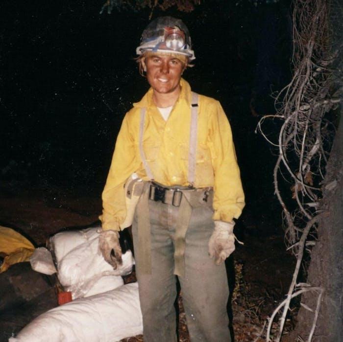 Bequi Livingston portrait in the field