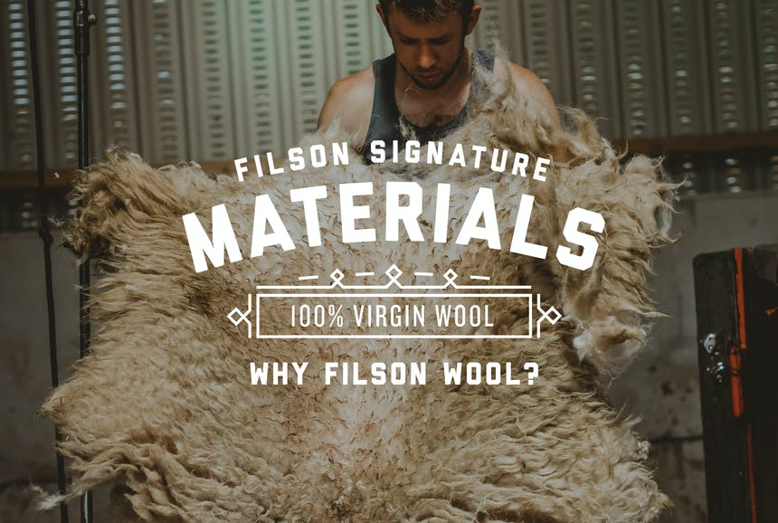 Filson Signature Materials: Why Filson Wool