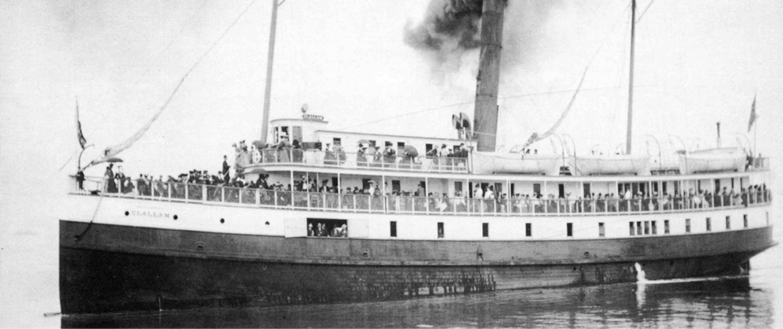 SS Clallam Sinking