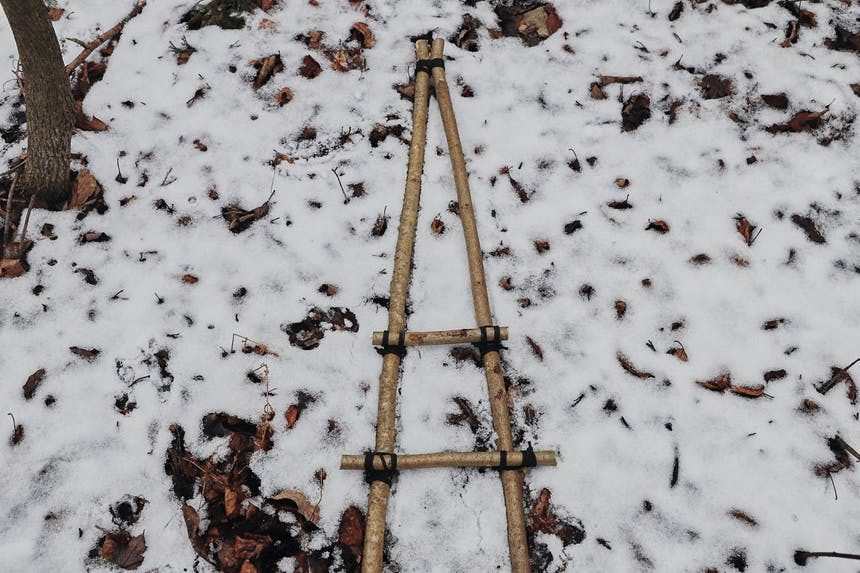 How to make snowshoes