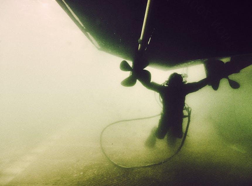 Zech underwater