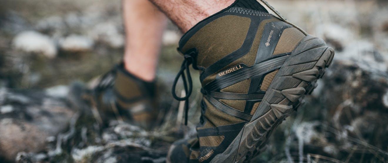 Filson Merrell hiking / Trail Running Boot