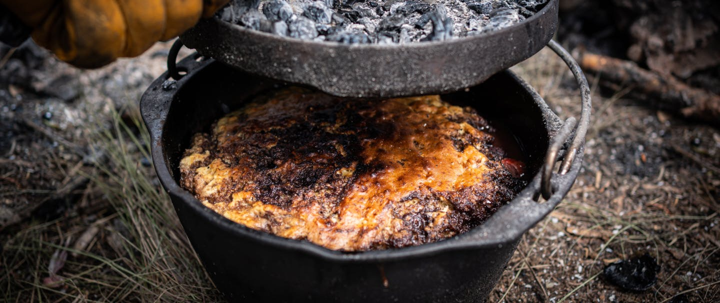 Fire-Baked Dutch Oven Cobbler_HERO