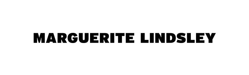 Marguerite Lindsley black text on white background