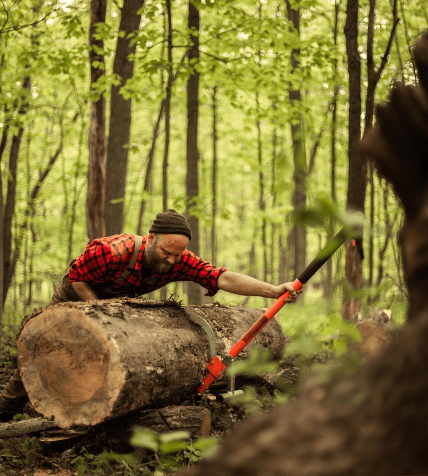 How to Build a Backyard Sawmill_9