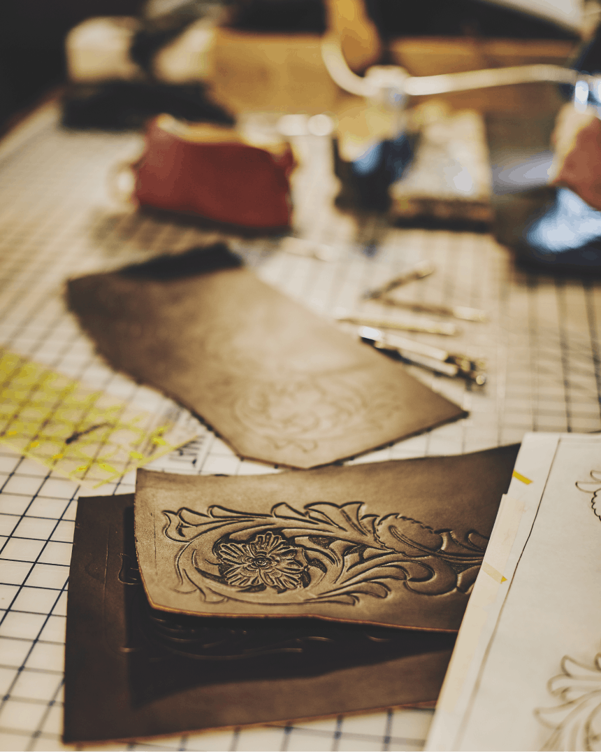 The Art of Hand Tooled Leather-Filson Leather Workshop_9