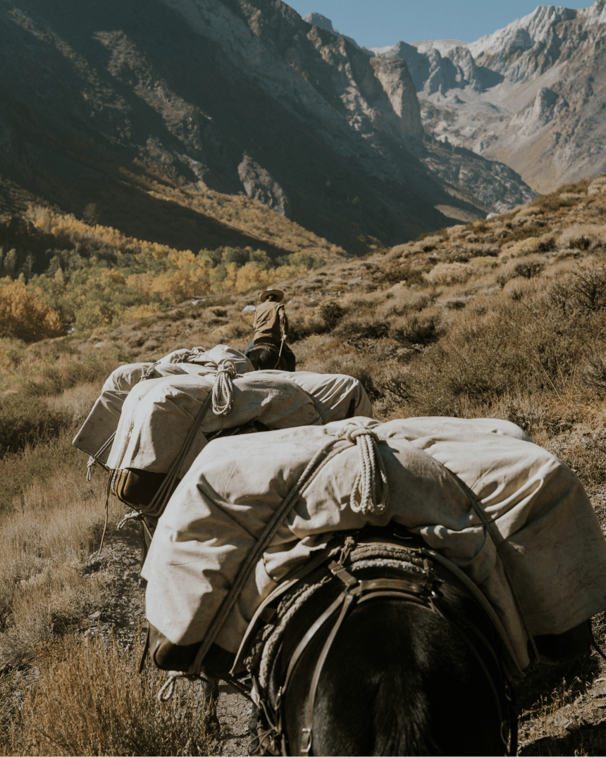How to pack a mule & what to bring_15