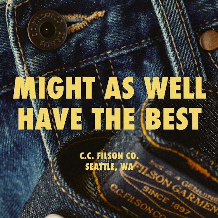 Filson Rail-Splitter Jeans