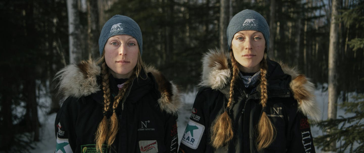 two women mushers from the iditarod, the berington sisters