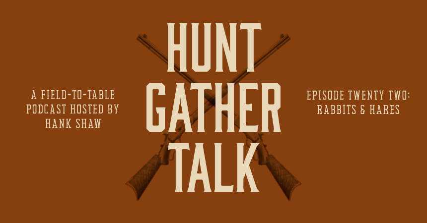promo image for hunt gather talk episode twenty two