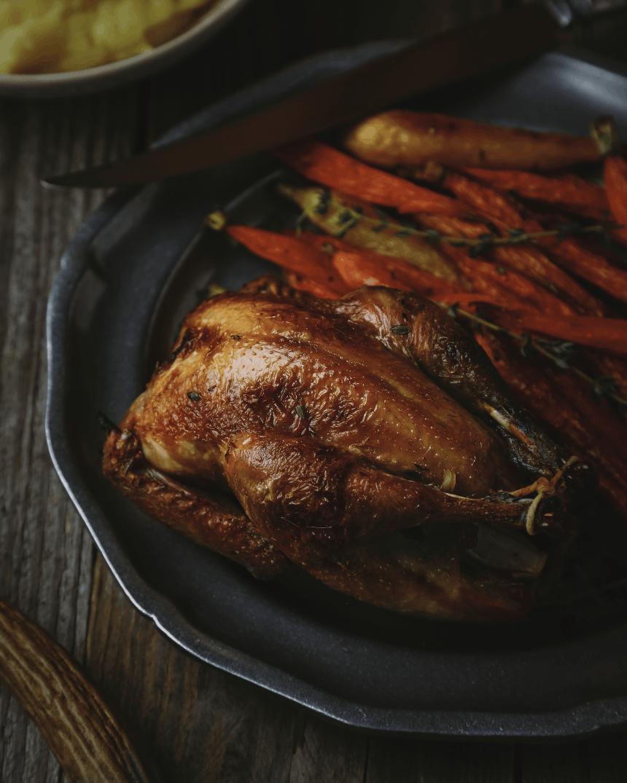 Pheasant with Tarragon-Lemon Carrots_6_V2