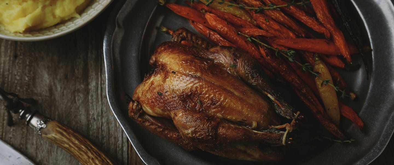 Pheasant with Tarragon-Lemon Carrots_HERO_V2