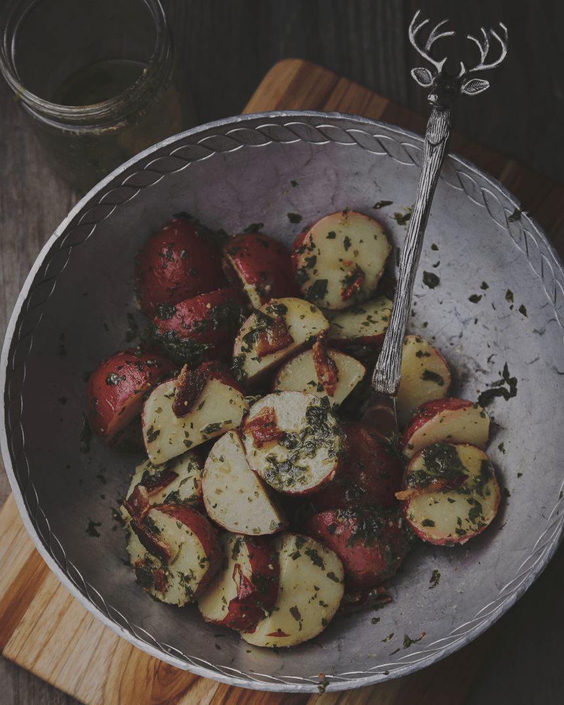 Garlic Mustard Potato Salad_1