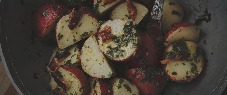 Garlic Mustard Potato Salad_HERO