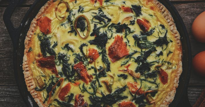 Stinging Nettle Quiche with Smoked Alaskan Salmon_1200x628