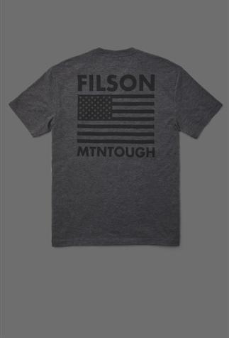 Product image of Filson x MTNTOUGH Buckshot T-Shirt.