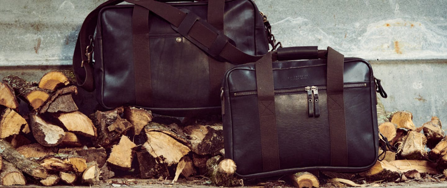 Filson Dawson leather bags.