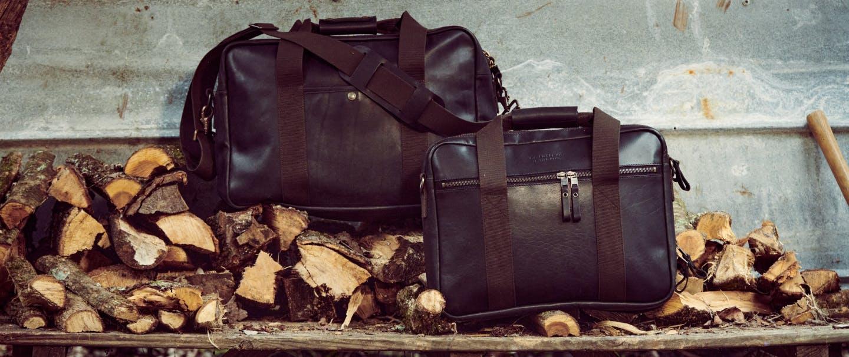 Filson Dawson leather bags.