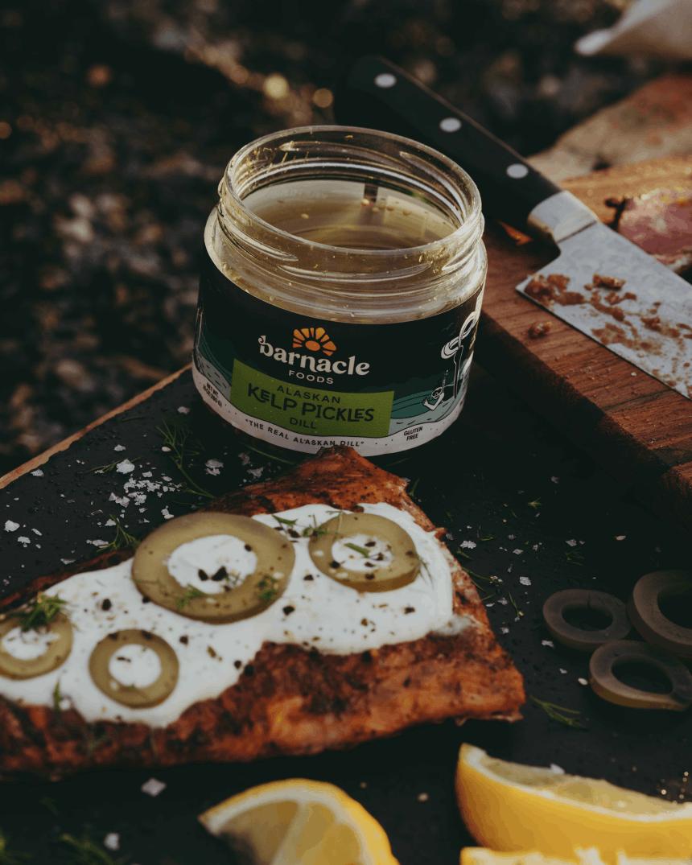 Barnacle Foods kelp pickles.
