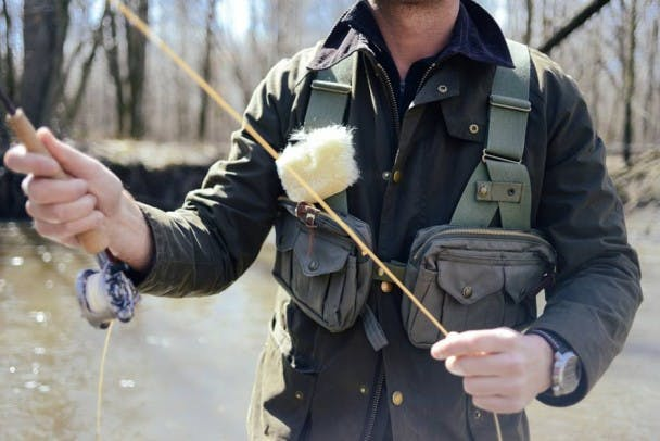 Filson Fly Fishing Vest - Justin Salem Meyer