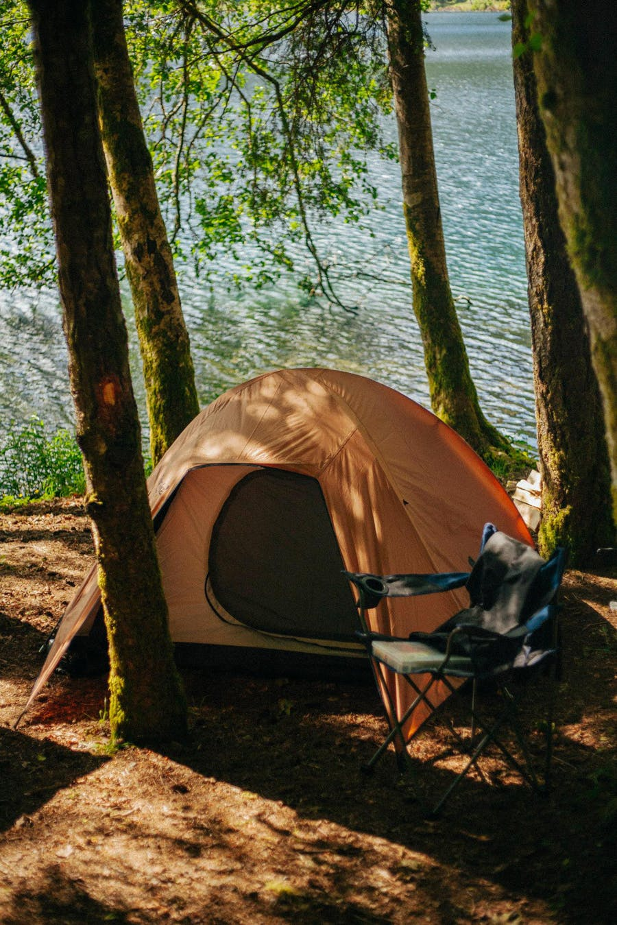 Campsite - Lake Crescent - Jordan Butcher