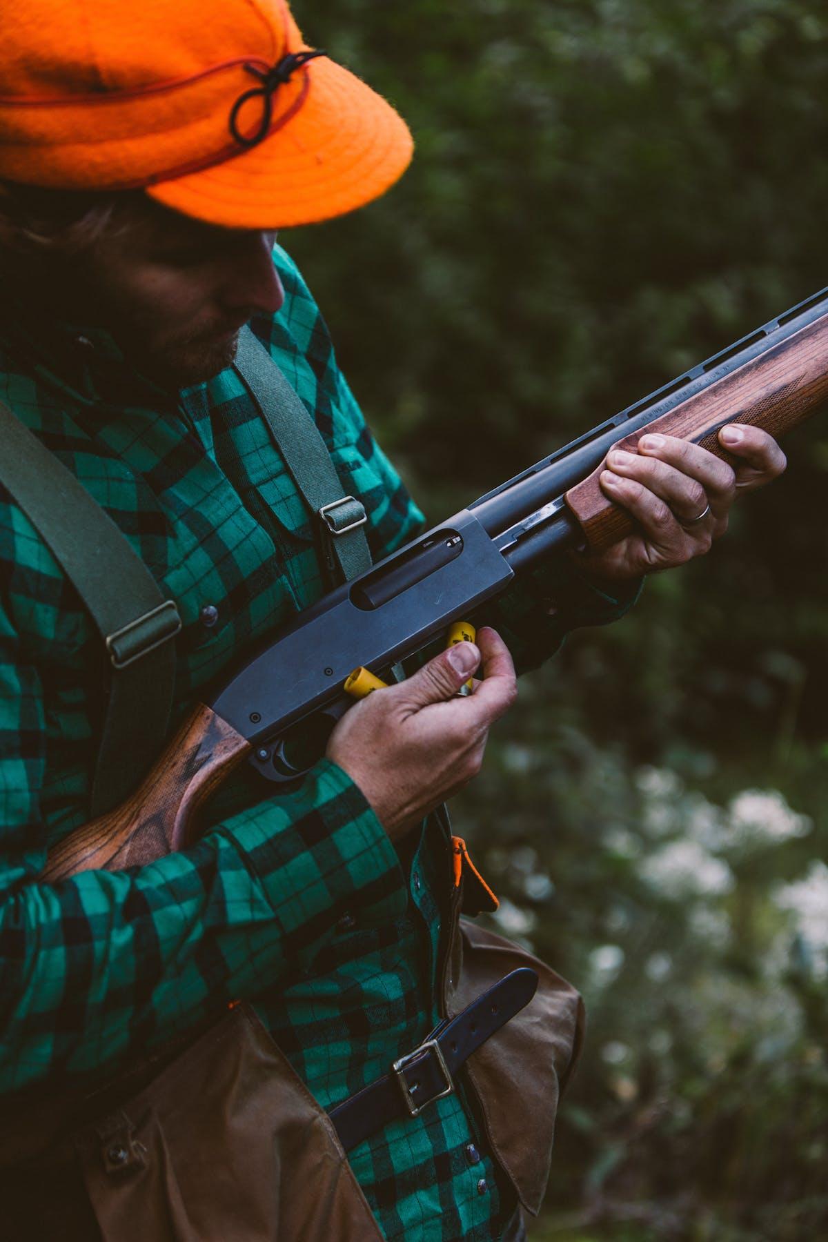 Filson Life - Patrick Loading Shotgun