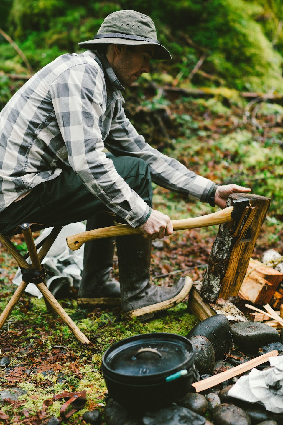 Filson Life - Campfire Cooking