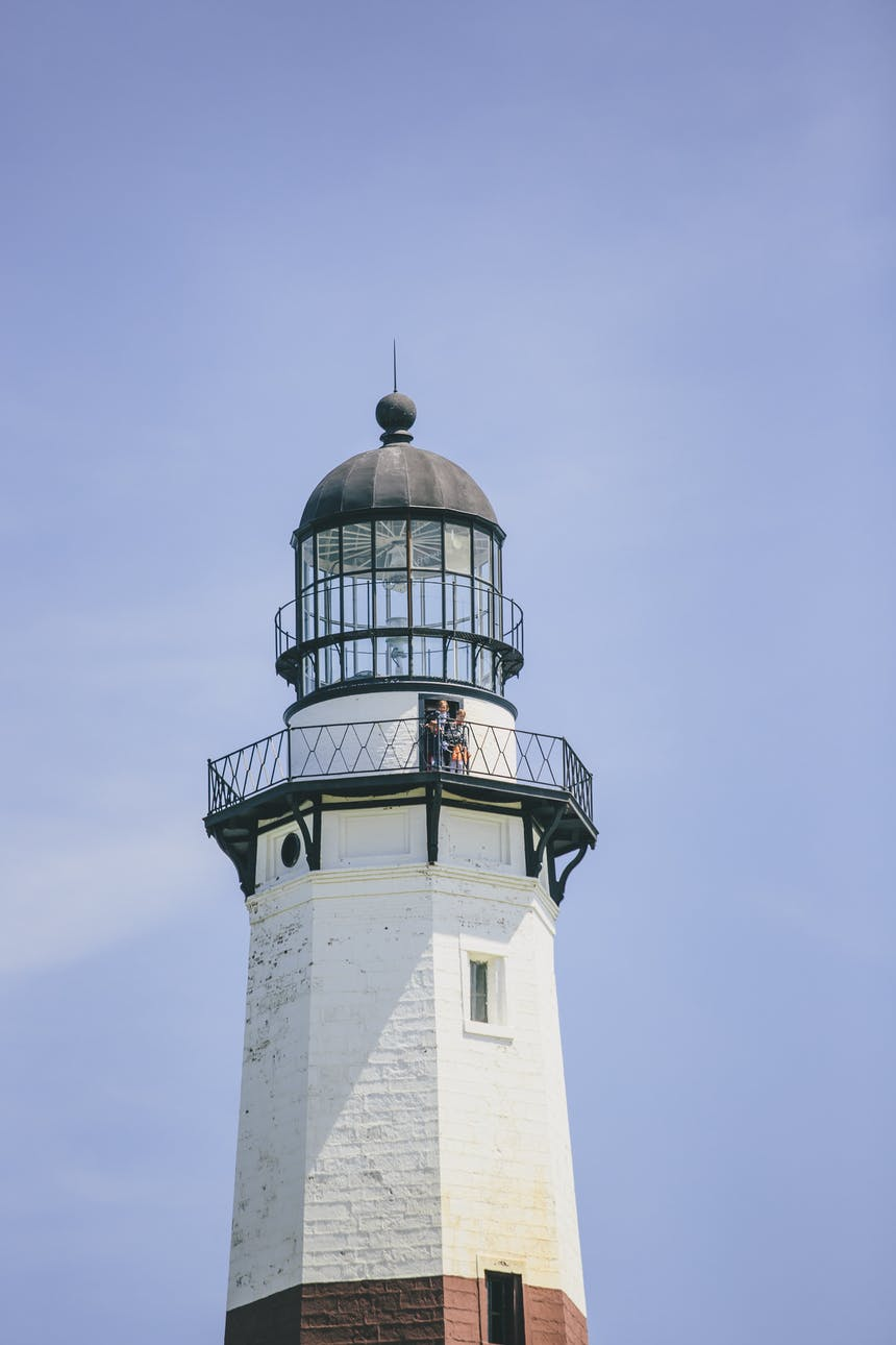 lighthouse in montauk
