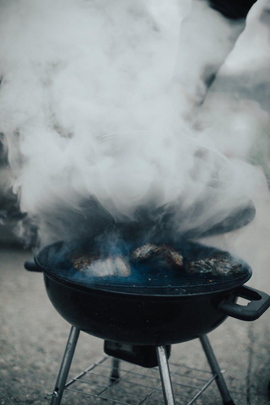 barbeque smoking
