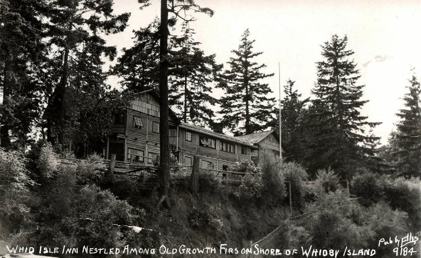 archival image of the Inn